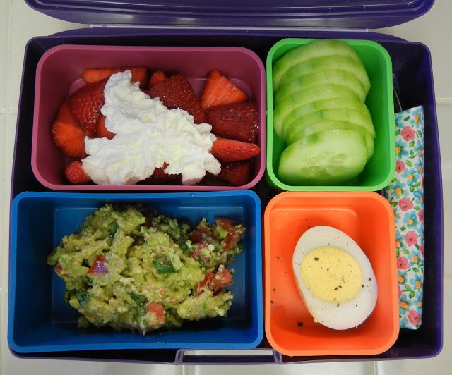 Eggface Bento Box Lunches Lunchbox - Protein Packed Low Carb Sugar Free