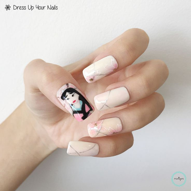 Princess Nail Art: 17 Best Ideas About Disney Princess Nails On Pinterest