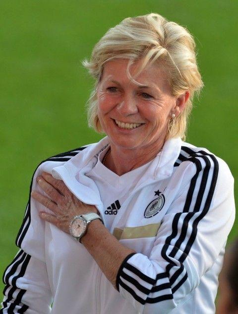 Silvia Neid Bundestrainerin der deutschen Frauenfussball-Nationalmannschaft.