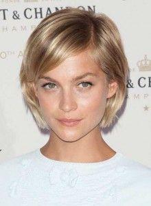 Kurze Frisuren für Frauen mit feinen, dünnen Haaren