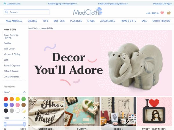8 Great Sites To Find Affordable Home Decor