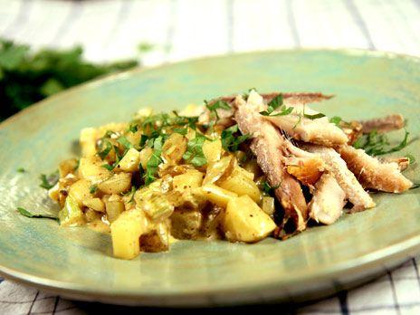 Skånsk potatis med rökt fisk | Recept.nu