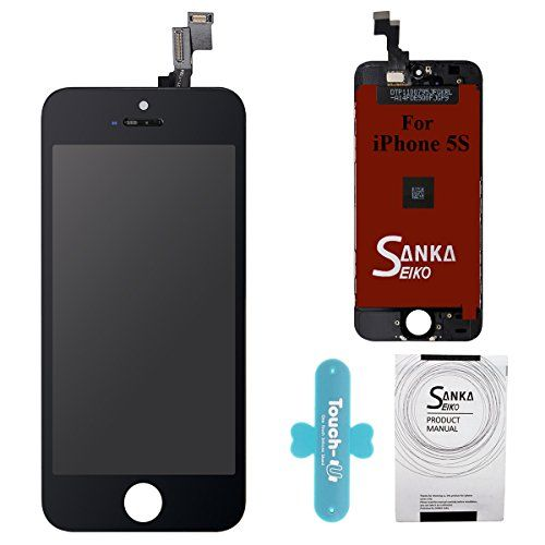 Welcome to my blog where we will be looking at the new SANKA LCD Screen Replacement Touch Screen Display Digitizer Glass Frame Assembly with Repair Tool Kit for iPhone 5S – Black.  The SANKA LCD Screen Replacement Touch Screen Display Digitizer Glass Frame Assembly with Repair Tool Kit...