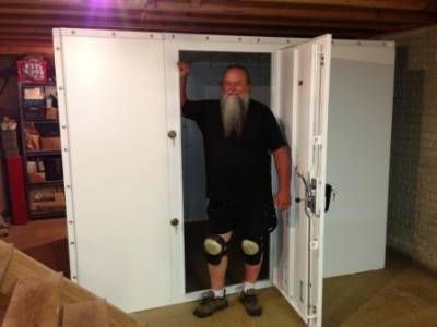 Top 25 ideas about gun safe room on pinterest security for Custom panic room