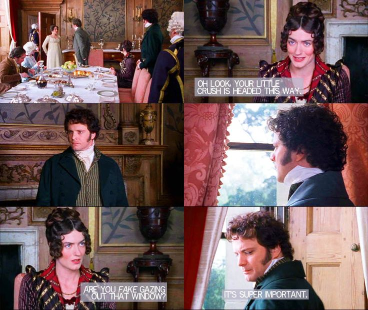 Pride and Prejudice (1995) + The Lizzie Bennet Diaries (2012)    This will never not be funny <3