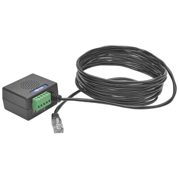 Tripp Lite UPS Enviromental Temperature Monitoring Sensor Snmp Tlnetc #TLNETEM