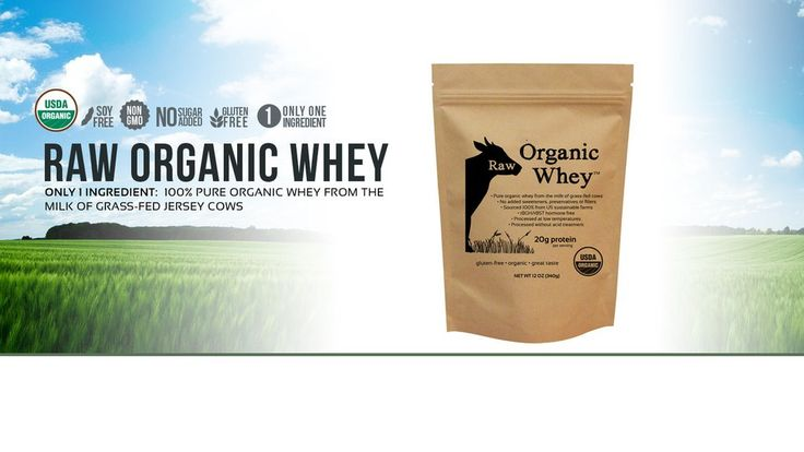 For your convenience, you can also buy Raw Organic Whey on Amazon Why Choose Raw Organic Whey? Raw Organic WheyTM was created in our quest to find the purest, unadulterated organic whey protein. Superior quality begins with what the cows eat and how they live, which is why our whey comes from cows that are pasture-fed on small family farms. We ensure that these cows are raised without hormones, antibiotics, steroids, or genetically modified feed.  Only 1 Ingredient: 100% Pure organic whey…