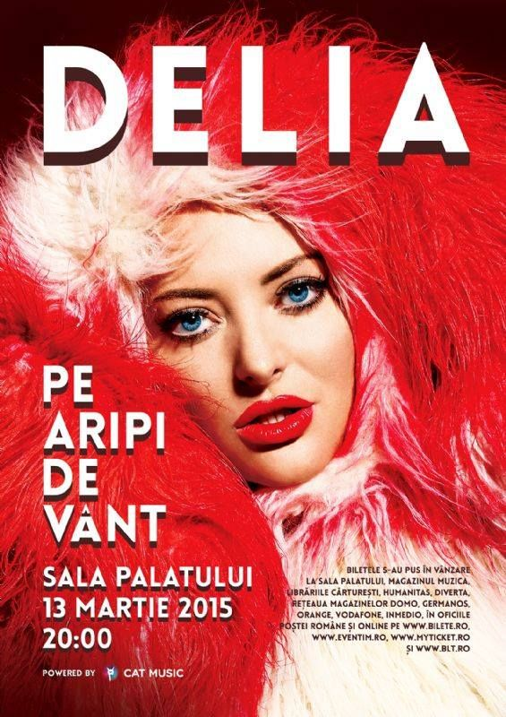 Delia and our FW 2014 red&white fur coat look perfect together! Check this item here: http://ro.pinterest.com/pin/291608144596895285/