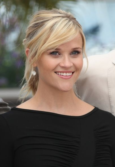 Reese Witherspoon #makeup #celebrity #beauty side bangs