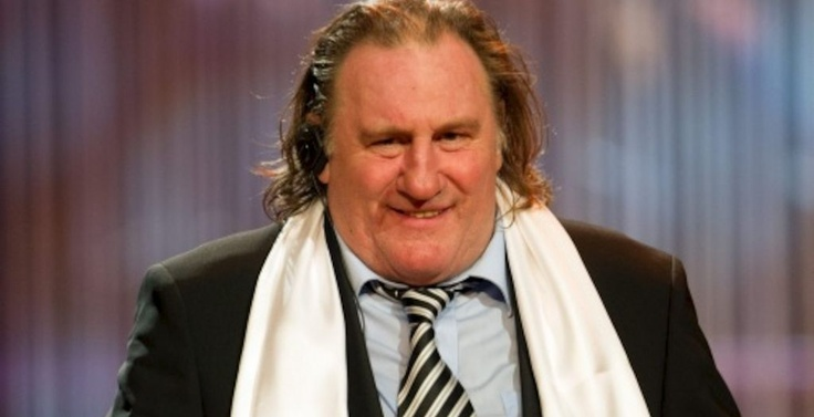 """""""France is a mournful place, I think that the French are overeating. Gerard Depardieu - citizen of the world"""