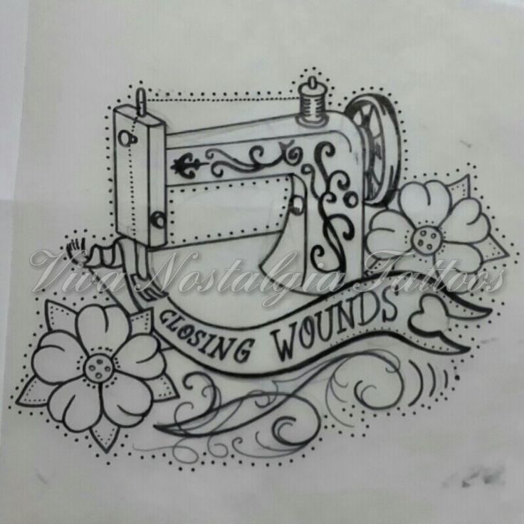 Sewing Machine Tattoo Sew Sewingmachine Tattoo Atl T