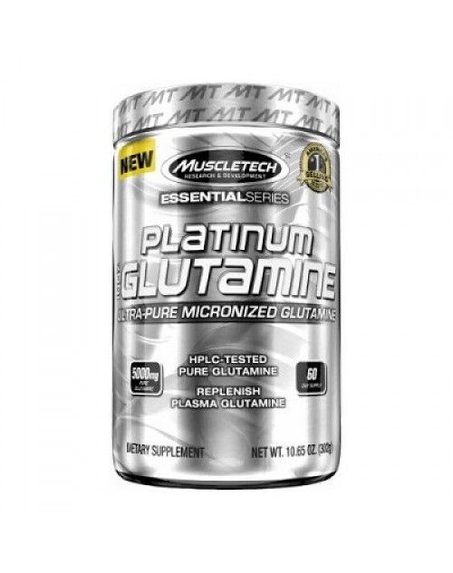 Muscletech Essential Series Platinum %100 Ultra-Pure Micronized Glutamine 302 Gr