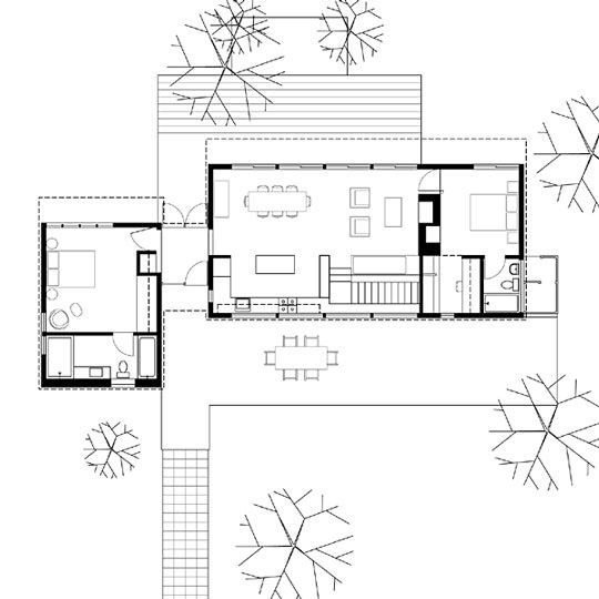 Floor Plan Guest House Cabins Pinterest