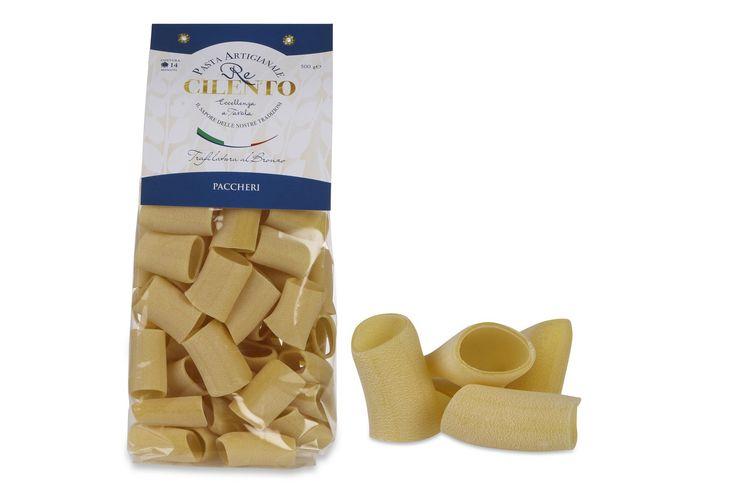 Paccheri di semola di grano duro. Prezzo: 2,70€