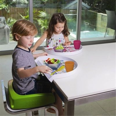 New design soft booster seats & toddler trays the perfect mealtime solutions!