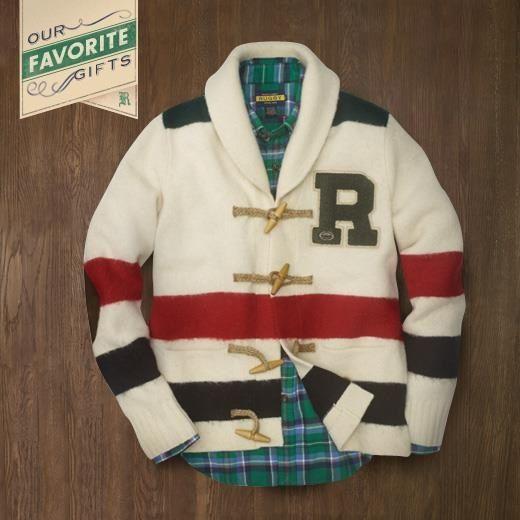 Ralph Lauren Rugby vintage stripe cardigan