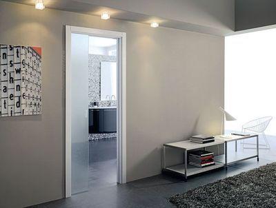 19 best pocket doors images on pinterest sliding doors - Porte a galandage eclisse ...