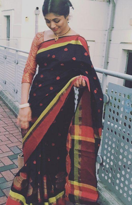 0068a98801906c 50 Latest Silk Saree Blouse Designs Catalogue 2019