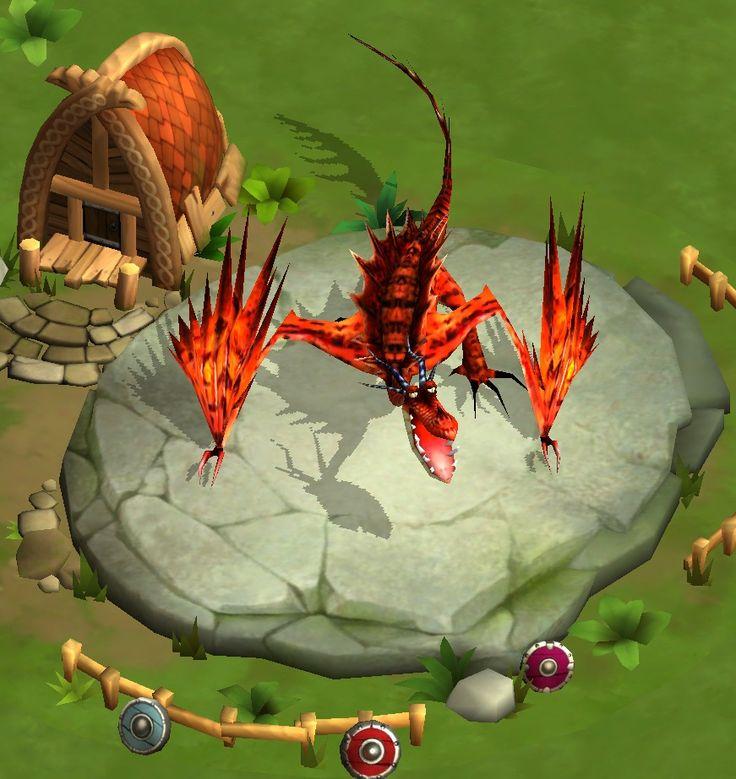 Hookfang - Dragons: Rise of Berk iOS game.