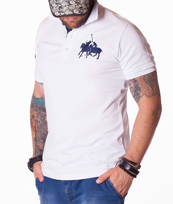 Ralph Lauren Polos de manga corta - Polo Fashion Camisa Blanco