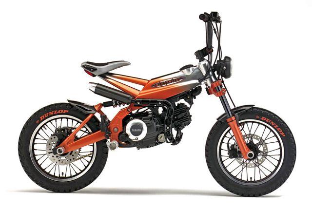 """Yamaha """"Chivicker"""" - Le Crazy Bike."""