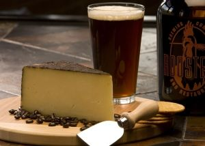 """""""Barely Buzzed Cheese""""  Coffee plus cheese and lavender all in one!  Have with a glass of wine, finish with a bite of chocolate and die happy."""