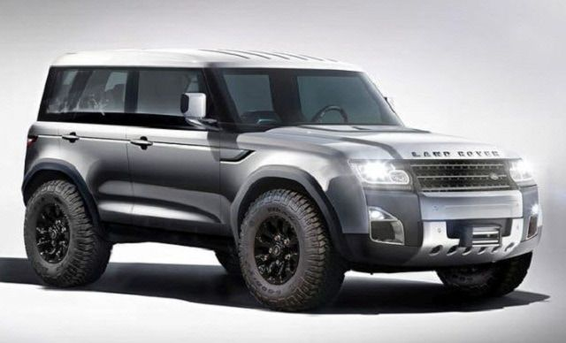 2018 Land Rover Defender News Review Design Release Date