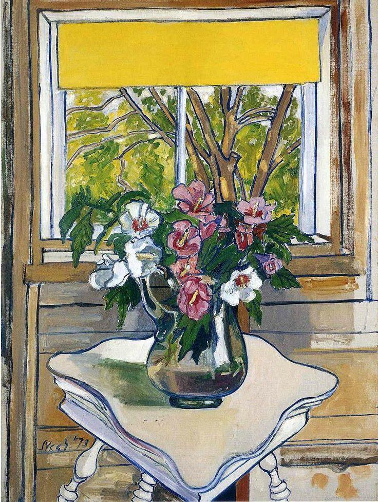 'Still Life, Rose of Sharon', 1973 - Alice Neel