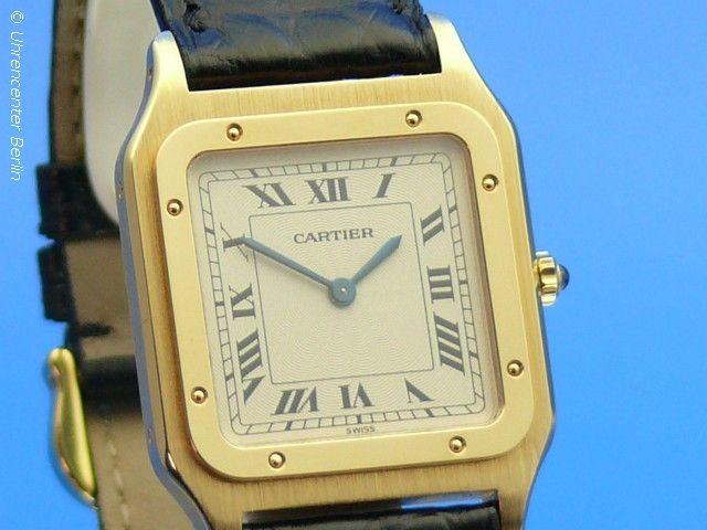 Cartier Santos Dumont 18K Gold - Uhrencenter Berlin - Gebrauchte Uhren in Berlin