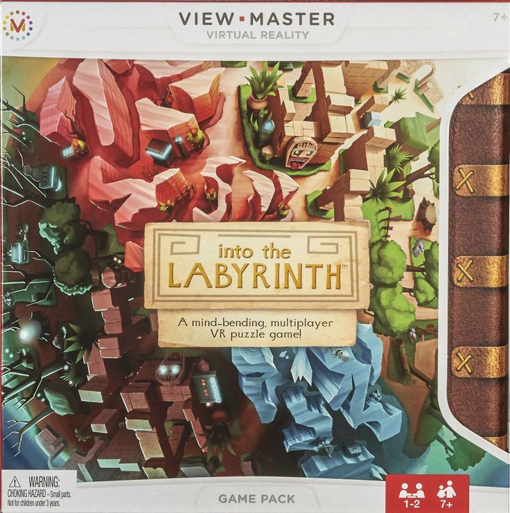 Mattel - View-Master Into the Labyrinth game pack - Multi, DTN72