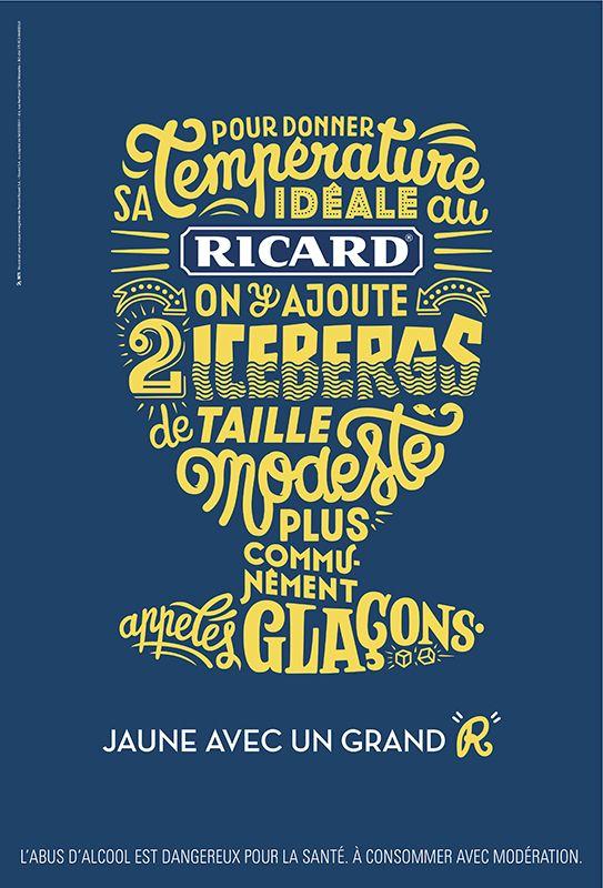 Les 5 meilleures publicités françaises de la semaine >> http://www.llllitl.fr/2014/06/meilleures-publicites-francaises-s22/ #Fonts #Typographies #Types #Ricard #Anis #Pernod #BETC #Ads #Blue #Yellow #Iceberg #Drink Avec AIDES, Australie, BETC, Buzzman, Directeur artistique, E. Leclerc, La Chose, Optic 2000, Pernod Ricard, Ricard, Sida, Smallable, Solidays, Typographies, Young & Rubicam Paris