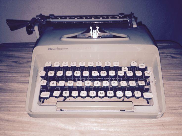 #maszyna#ludzielistypisza#zapomnianaformakomunikacji#