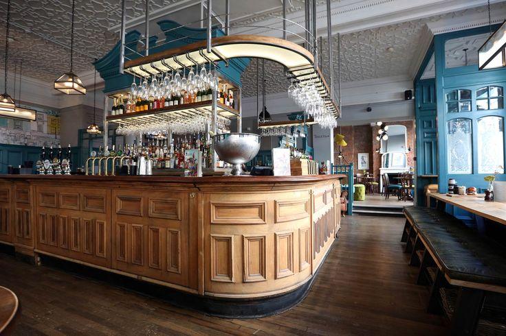 Restaurant Design Yorkshire : The duke of wellington london interior design by my old