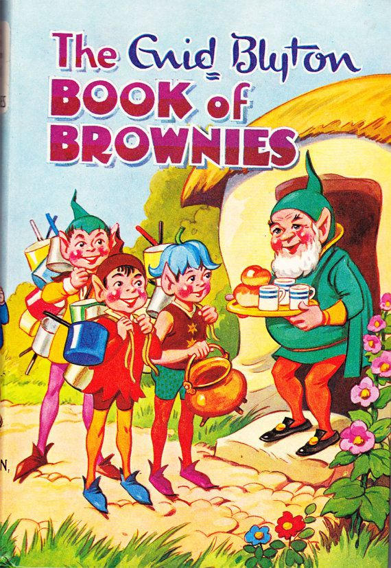 The Enid Blyton Book of Brownies-my favourite book when i was small!