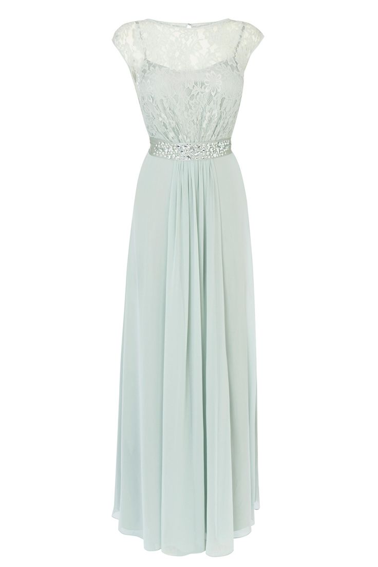 Lori Lee lace maxi dress, mint. Coast. High street bridesmaid dresses 2016 #bridesmaid #dress
