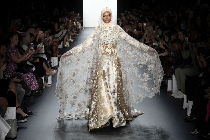 Anniesa Hasibuan Becomes First Designer to Present NYFW Collection with Hijabs  - ELLE.com