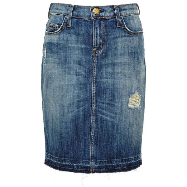 best 20 distressed jean skirt ideas on