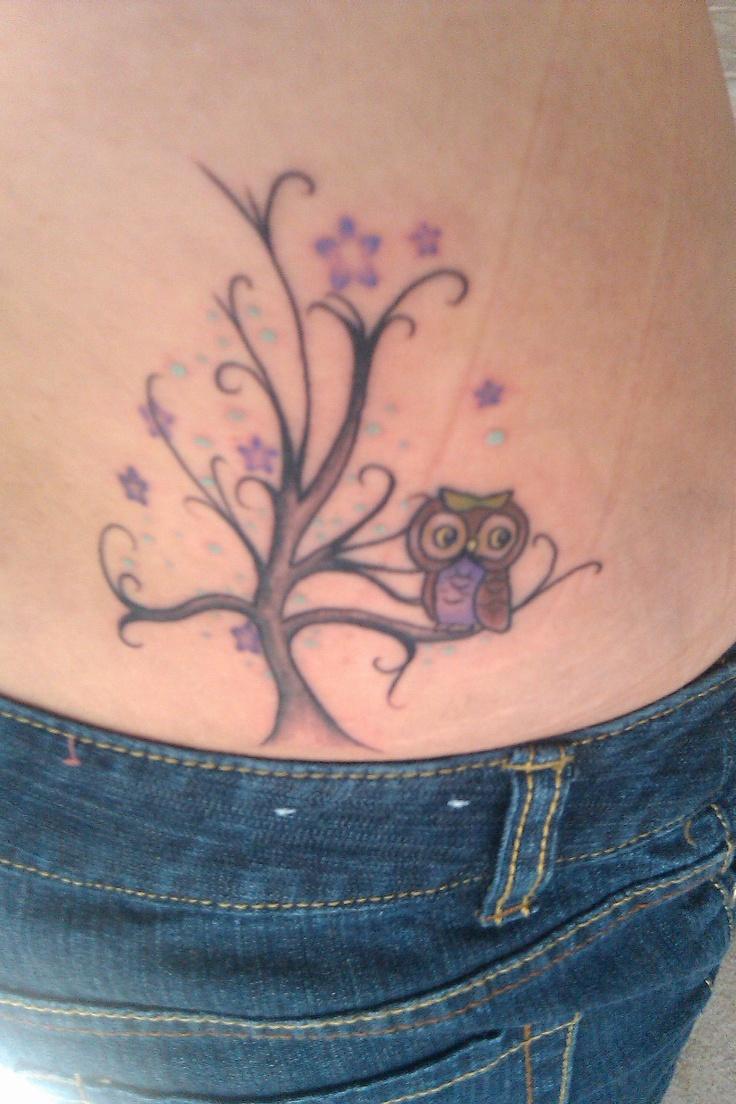 my owl/tree tattoo