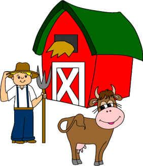 felt board patterns to go with big red barn, click clack moo and more