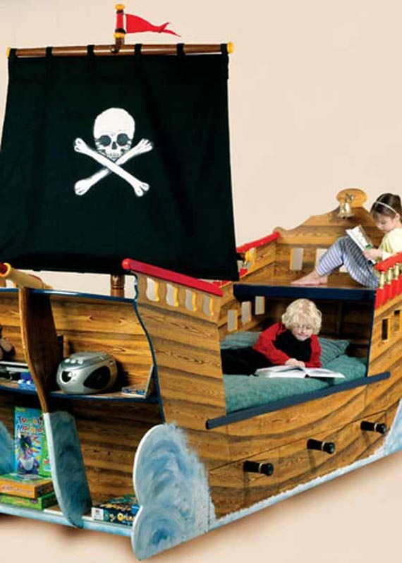 Bedroom Furniture Design: Pirate Ships, Pirates, Beds, Pirate Ship ...
