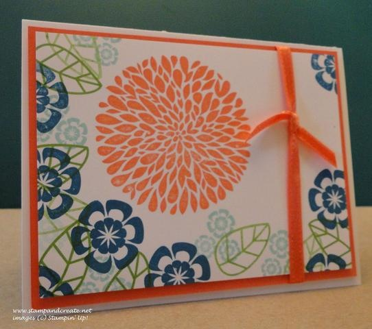 Betsy's Blossoms - April Stamp Set of the Month