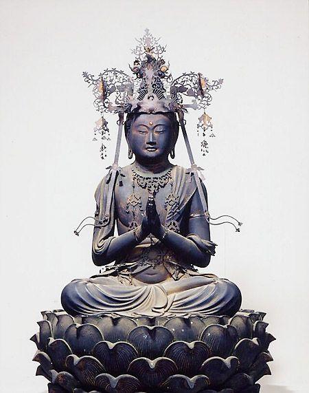 Seishi Bosatsu Zazō (Statue of Seishi Bosatsu in a Seated Posture, Important Cultural Property)
