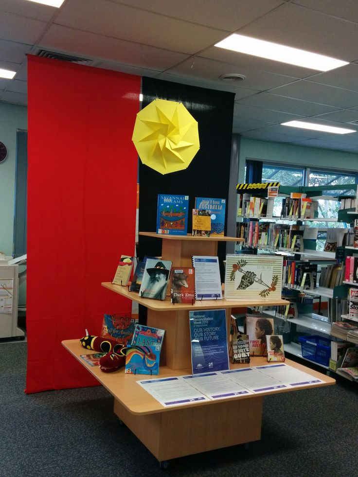 Reconciliation Week 2016 at Campbelltown College Library #TAFESWSiLibraries #reconciliation