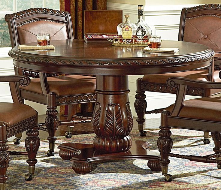 Round Dining Table Set OgXuVRZO