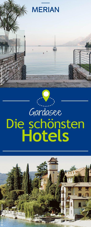 Für euren erholsamen Urlaub zeigen wir euch die schönsten Hotels direkt am Gardasee.