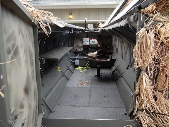 Hard Sided Duck Boat Blinds Boat Blinds Duck Hunting