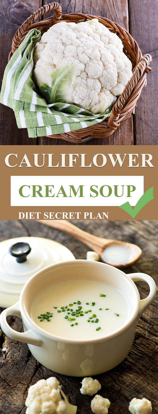Cream of Cauliflower Soup Recipe – Diet Secret Plan – Fat Burning Project