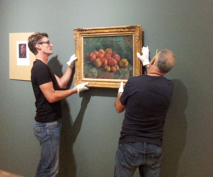 At this moment our upcoming presentation 'Vincent. The Van Gogh Museum in the Hermitage Amsterdam' is being installed. This is a peek behind the scenes.: Vans Gogh Museums, Van Gogh Museum, Gogh Ii