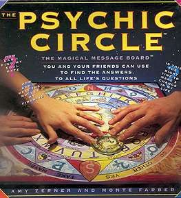 Psychic Circle Ouija Board Remember this POS ha? Sold it at Yard sale for 3 bucks....Bawahahaha