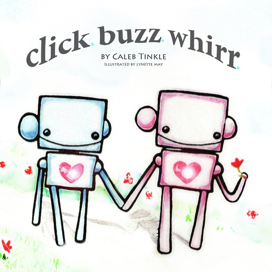 Baby Gift, teacher gift, valentine Gift or keep for yourself. This adorable book about robots in love by Caleb Tinkle will melt your heart. Written, illustrated and printed locally in Memphis, TN. http://clickbuzzwhirr.weebly.com/